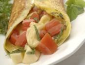 Omelette caprese: Cocina casera