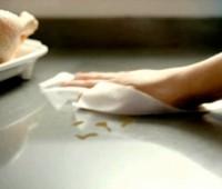 La lavandina como desinfectante en la cocina