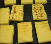 Brusquetas rústicas de polenta