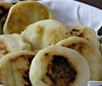 Arepa: plato tradicional en Colombia,  Venezuela y PAnamá