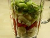 Licuado de fruta mixta: Delicioso, nutritivo y sano