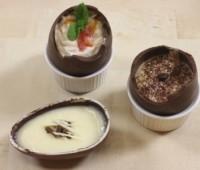 Postres para Pascua: Idea original con Huevos de chocolate