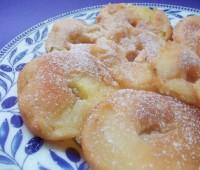 Manzanas fritas: Postre rápido y sencillo