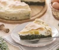 Tarta Pascualina clásica tarta para Pascua