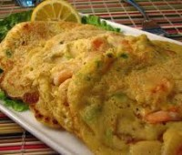 Receta original para Pascuas: Tortillitas de Camarones