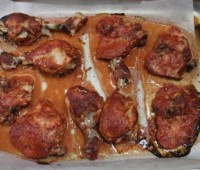 Alitas de pollo a la Tandoori
