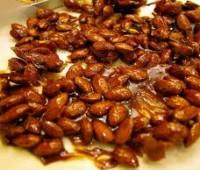 Cómo se caramelizan las almendras y avellanas?
