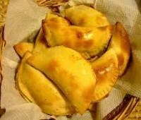 Empanadas de jamón, queso y champiñones