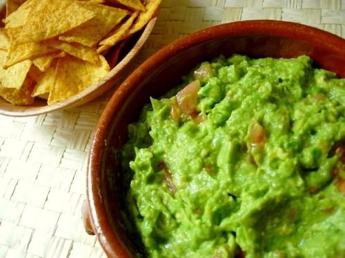 Ingredientes para realizar Guacamole: