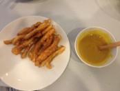 Pechugas de pollo con salsa a la mostaza
