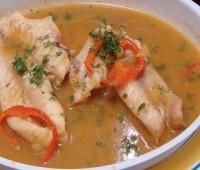 Sudado de pescado peruano