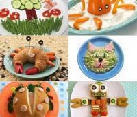 Comida para chicos: Cómo presentar los platos para atraer a los chicos