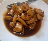Pollo a la salsa de soja