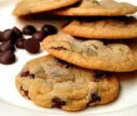 Cookies de chocolate y copos de maíz