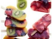 Fotos de Helados originales de frutas