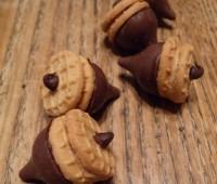 Receta: Bellotas de Chocolate