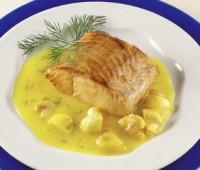 Salsa de limón para acompañar pescados
