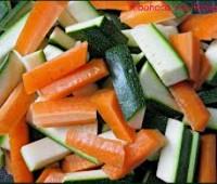Verduras hervidas al aceite de oliva