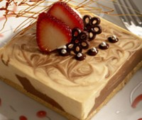 Receta: Cheesecake marmolado