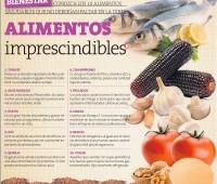 Top 10 de alimentos saludables que no deben faltar en las dietas: Infografía