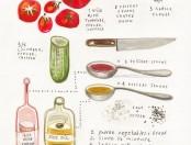 ¿Cómo se hace un Gazpacho? Infografía de la receta