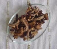 Salsa fría de hongos secos: Receta