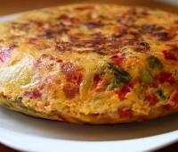 Receta de tortilla campesina – Para congelar y servir