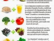 Infografía con buenas combinaciones de alimentos