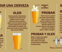 """Infografía de """"Cómo catar una cerveza"""""""
