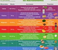 Infografía: La importancia de las sales minerales en la alimentación