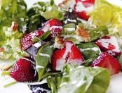 Ensalada verde frutal