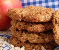Receta: Galletas de avena y manzana