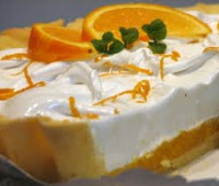 Lemon pie de naranja