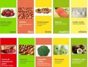 Infografía de los alimentos más saludables