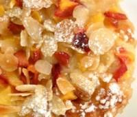 Receta: Postre crocante de frutas y coco rallado