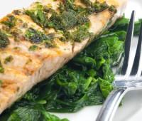 Recetas con pescado: Lenguado con espinaca y champiñones