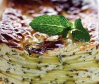 Terrina de zucchinis en el microondas