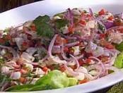 Ceviche de corvina, un plato peruano