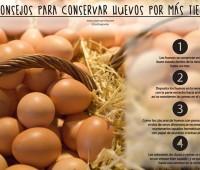 Cómo conservar huevos más tiempo