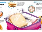 Qué alimentos saludables hay para loncheras escolares