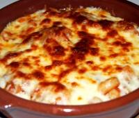 Cazuelita de verdura y queso