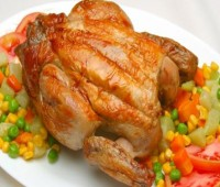 """¿De qué manera cocinar un pavo en un horno """"roaster""""?"""