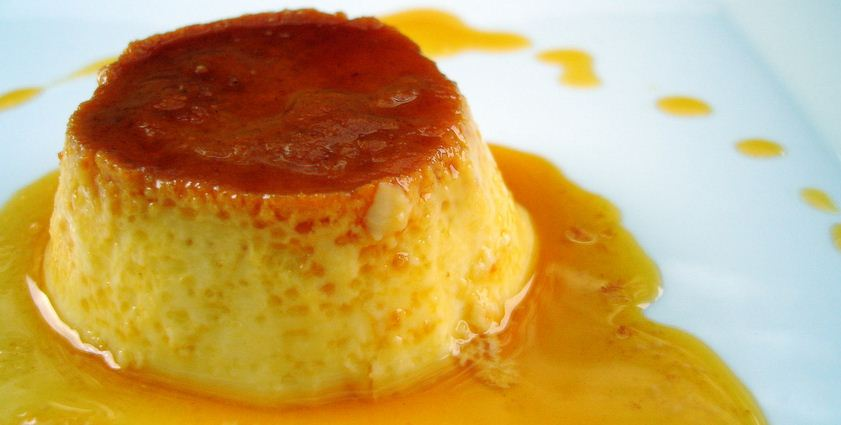 Receta flan casero cocinachic for Ingredientes para hacer flan casero