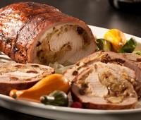 Receta: Lomo de cerdo relleno