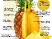 Los beneficios del ananá o piña