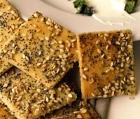 Receta: Galletas de queso y sésamo