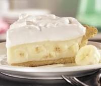 Postre de bananas a la crema