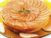Deliciosa tarta de peras