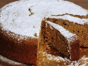 Torta de chocolate granizado