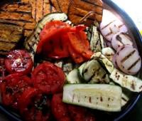 Verduras a la parrilla una opción saludable